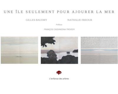Une île seulement pour ajourer la mer, de Gilles Baudry